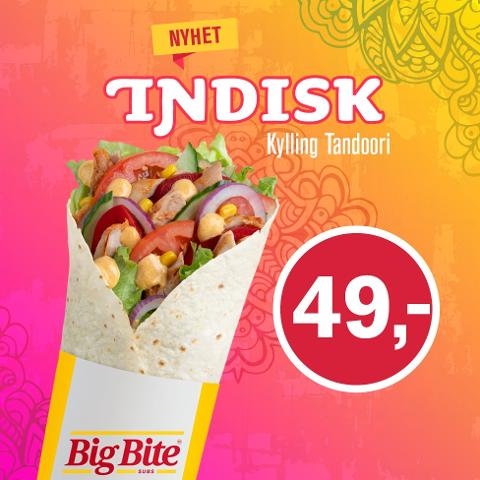 Indisk wrap