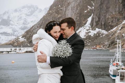 Bryllup i Lofoten