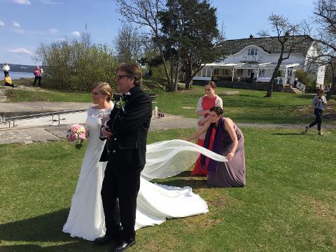 Anette og Christian, Nesodden, 07. mai 2016