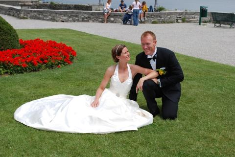 Terese og Christian, Comosjøen, 26. juni 2009