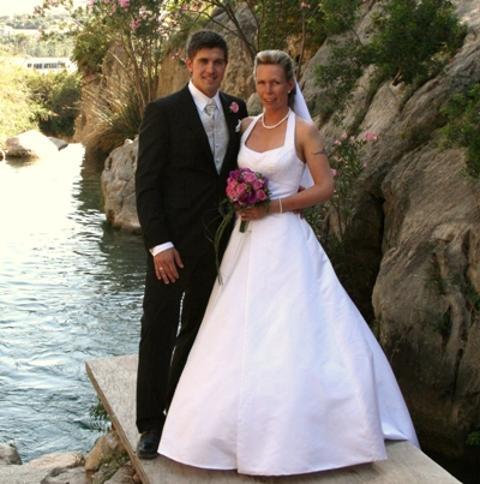 Vivian og Stian, Alicante, 28. juni 2008