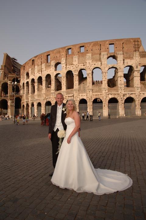 Lene og Eirik, Roma 06. september 2008