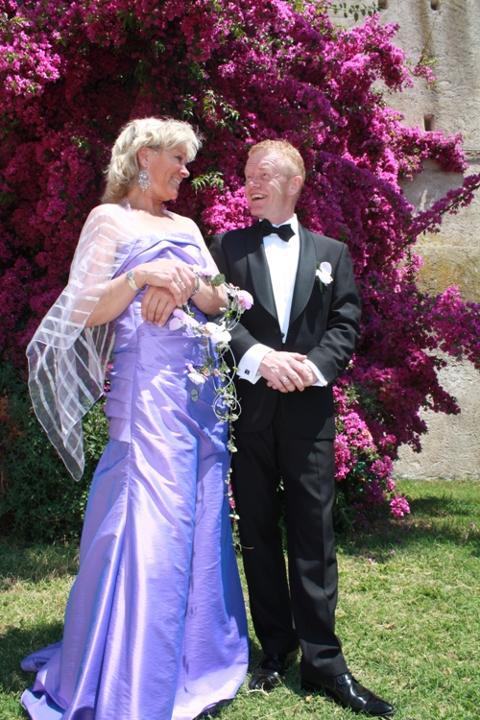Kristin og Rune, Santa Marinella, 28. juni 2010