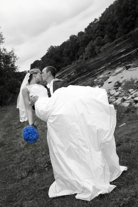 Aina og Martin, Slottsbryllup Skottland, 02. august 2010