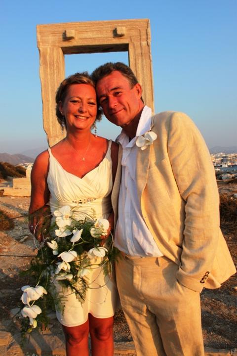 Merete og Frank, Naxos, 09. august 2012