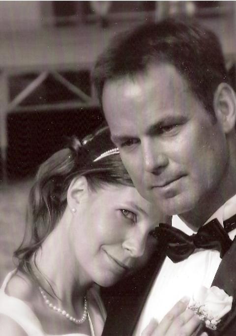 Monica og Morten, San Felice Circeo, 16. juni 2007
