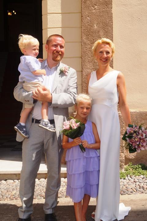 Camilla og Christian, Sardinia, 19. juli 2013