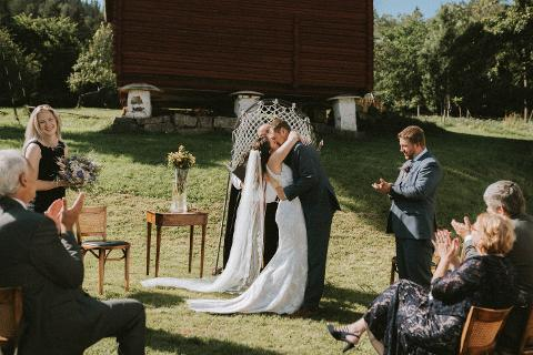 First look - video av bryllupet