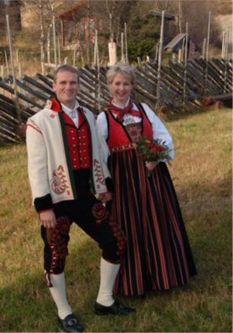 Lisbeth og Harald, Lavvobryllup, 15. oktober 2005