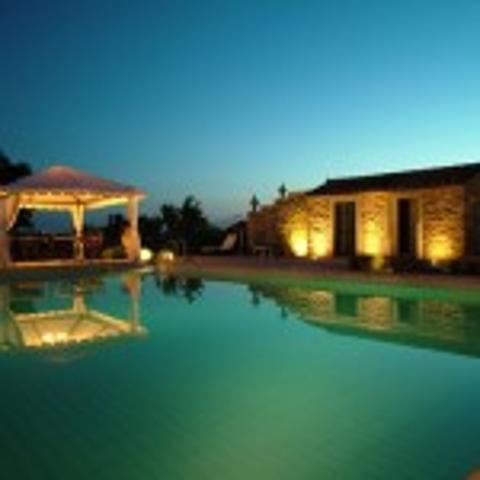 Landlig villa nær Cortona
