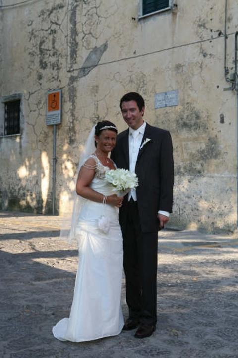 Hilde og Roar, Ravello, 20. juli 2007