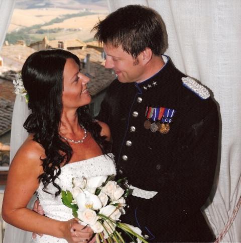 Ailin og Dag Ivar, slottsbryllup Toscana, 08. august 2008