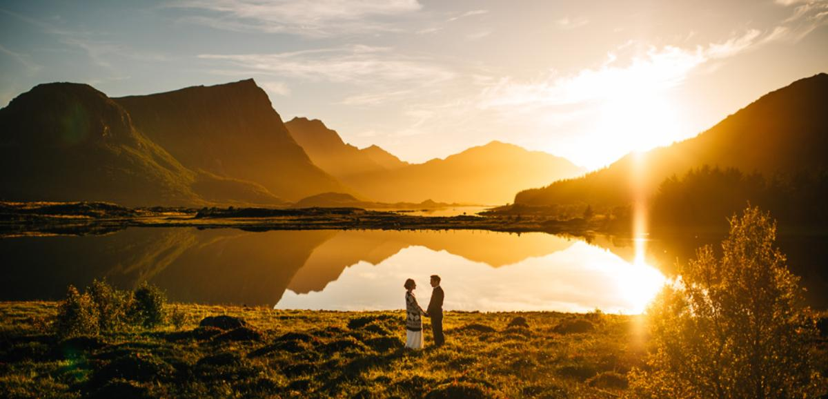 Sirena and Eric, Wedding in Lofoten, 16 September 2014