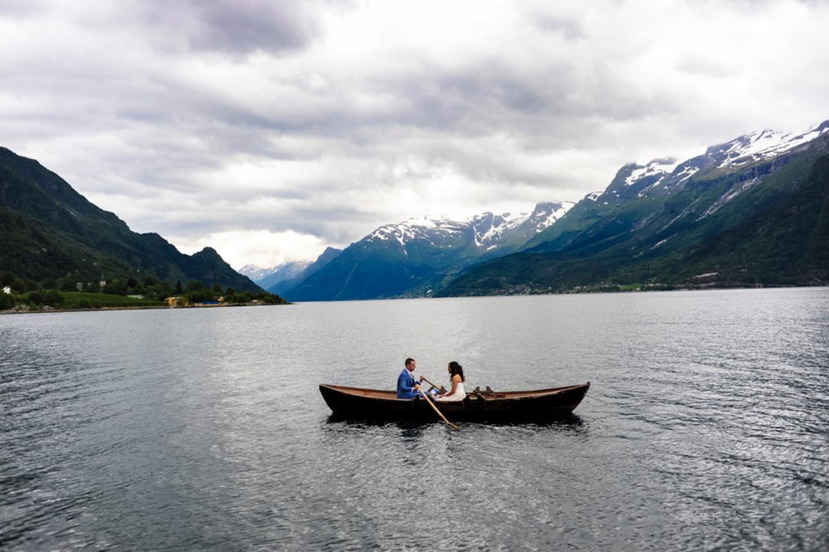 Roisin and Christopher, Wedding in Hardanger, 6 July 2016