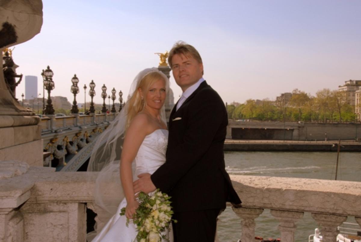 Kristin og Roy, Bryllup i Paris, 23. april 2010