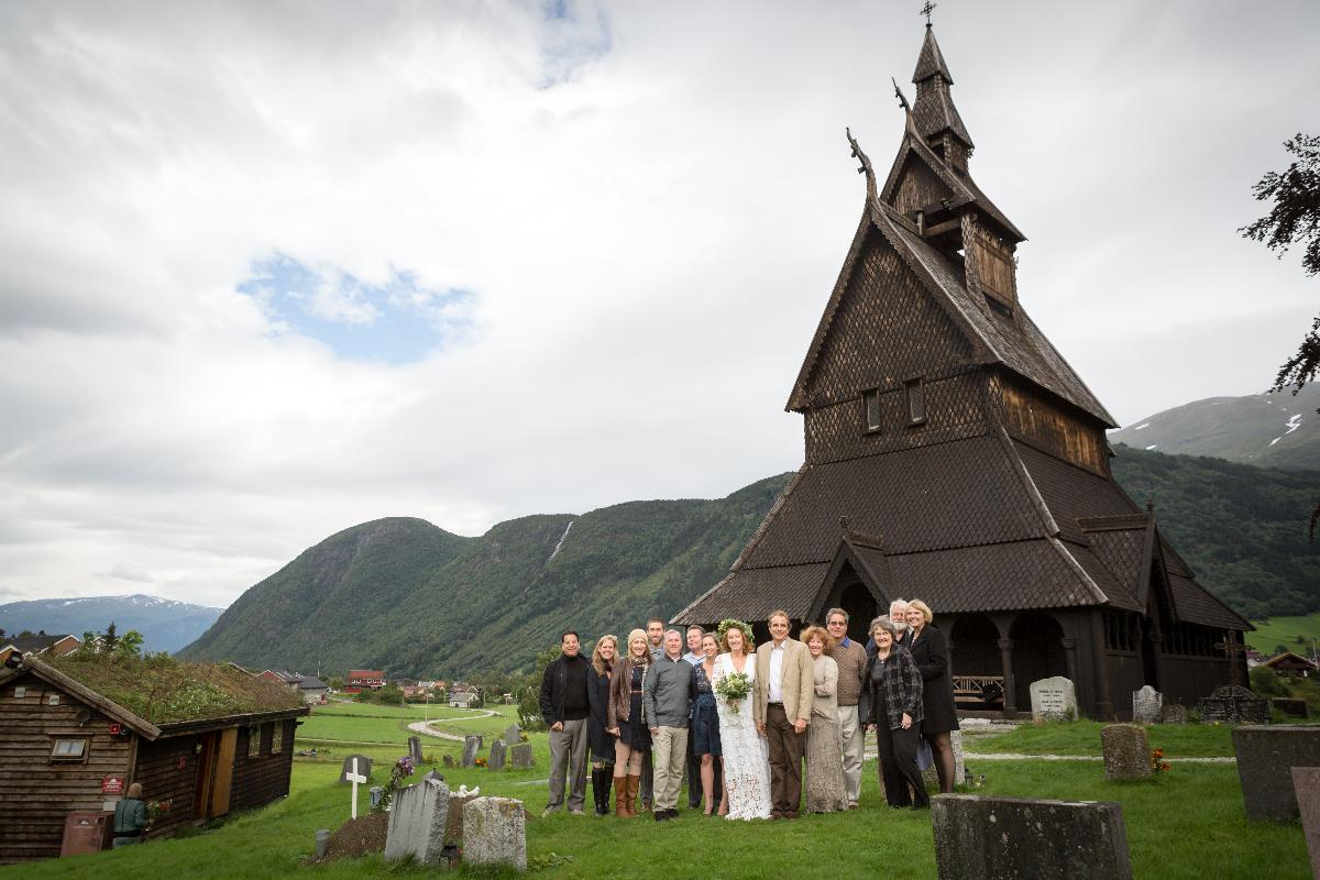 Danielle and Lane, Wedding in Vik Sogndal, 2 September 2015