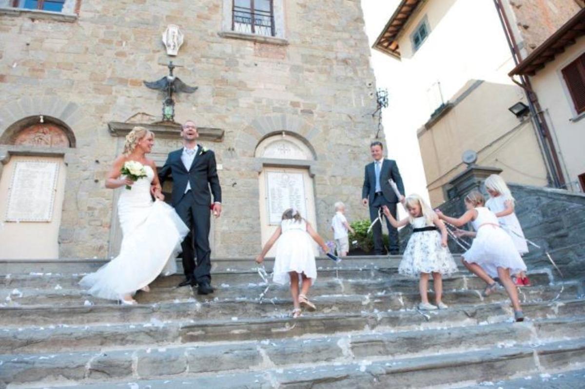Hildegunn og Kristian, Cortona, 6. juli 2013