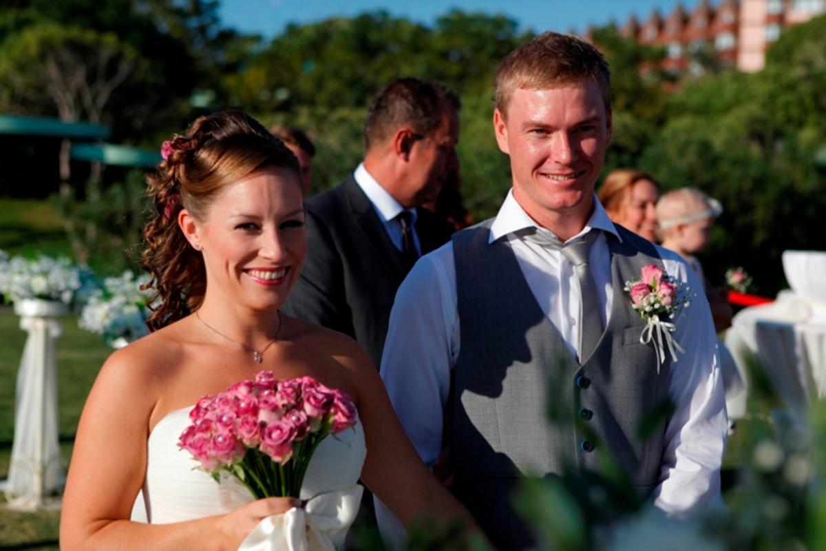 Kathrine og Anders, Belek, Tyrkia, 25. september 2013