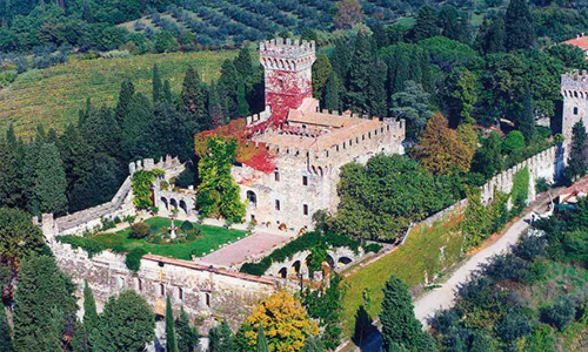 Slottsbryllup i Italia