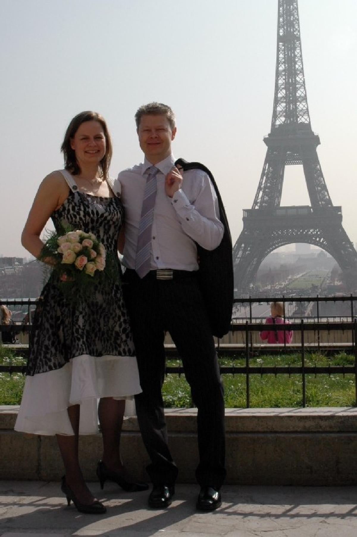 Anette og Morten, Paris, 25. mars 2011