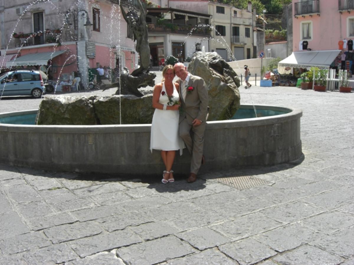 Hilde og Lars, Maratea, 08.08.08