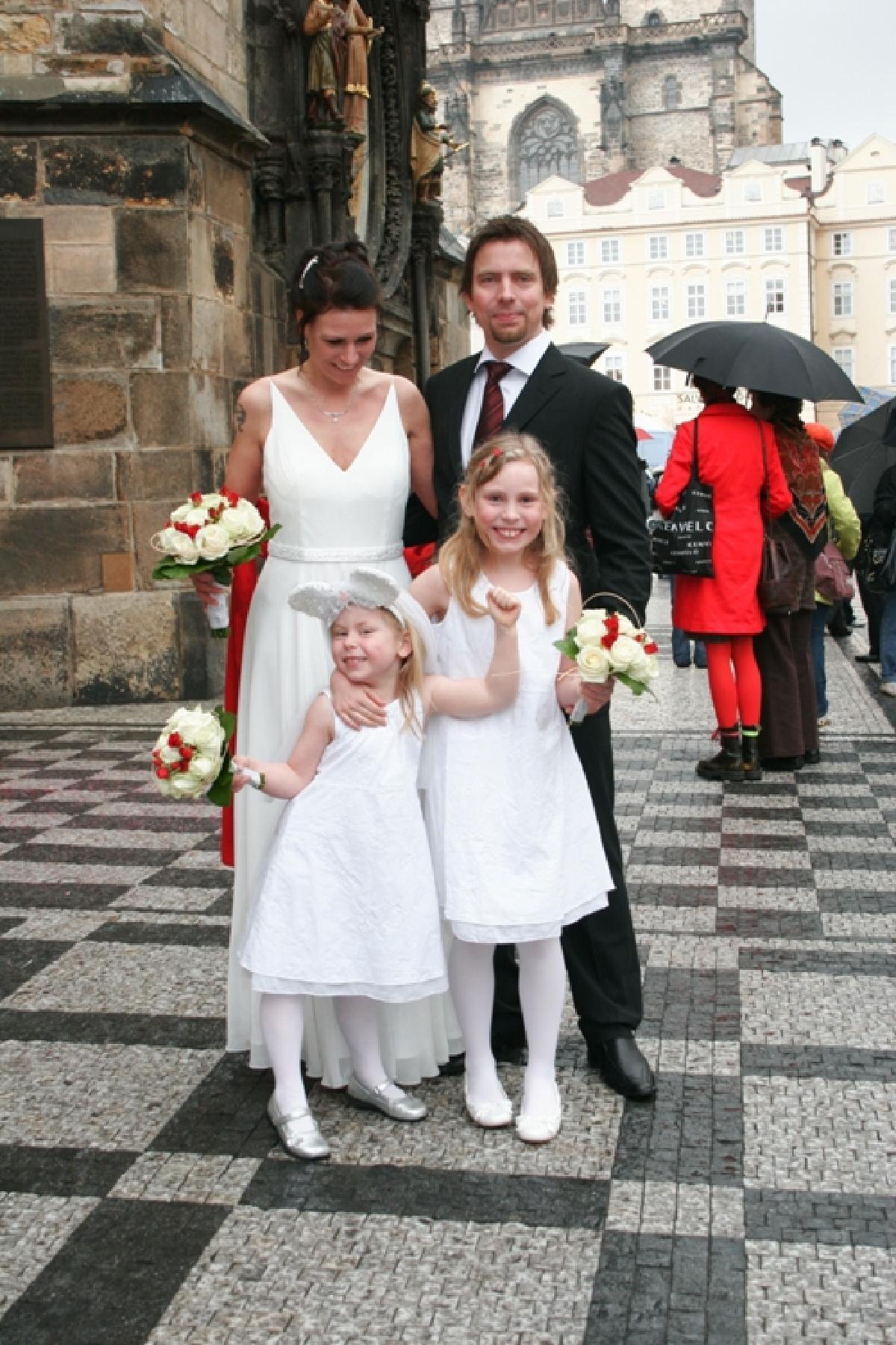 Merethe og Erik, Praha, Tsjekkia, 04. april 2008