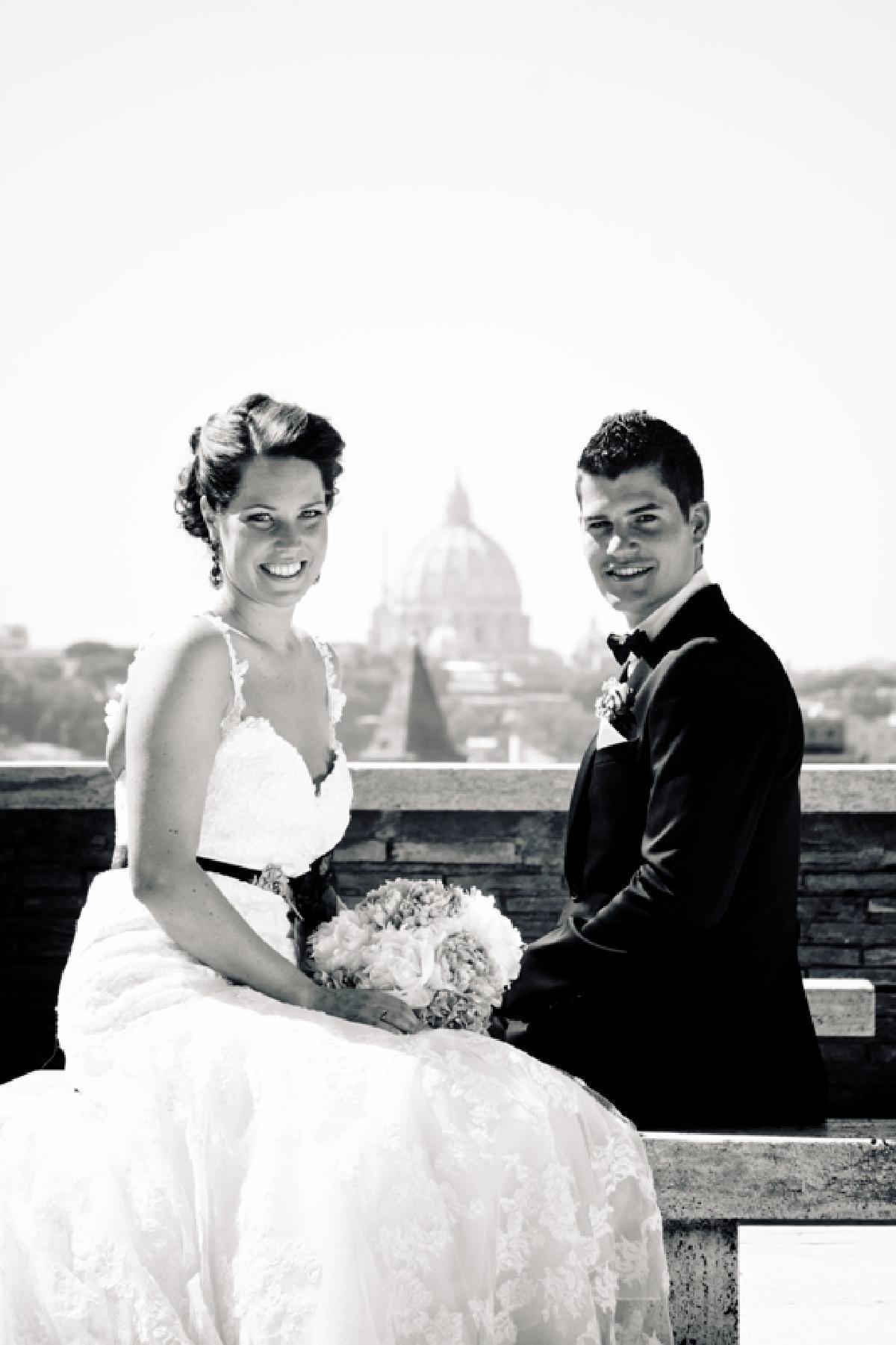 Inger Johanne og Fredrik, Roma, 28. juni 2012