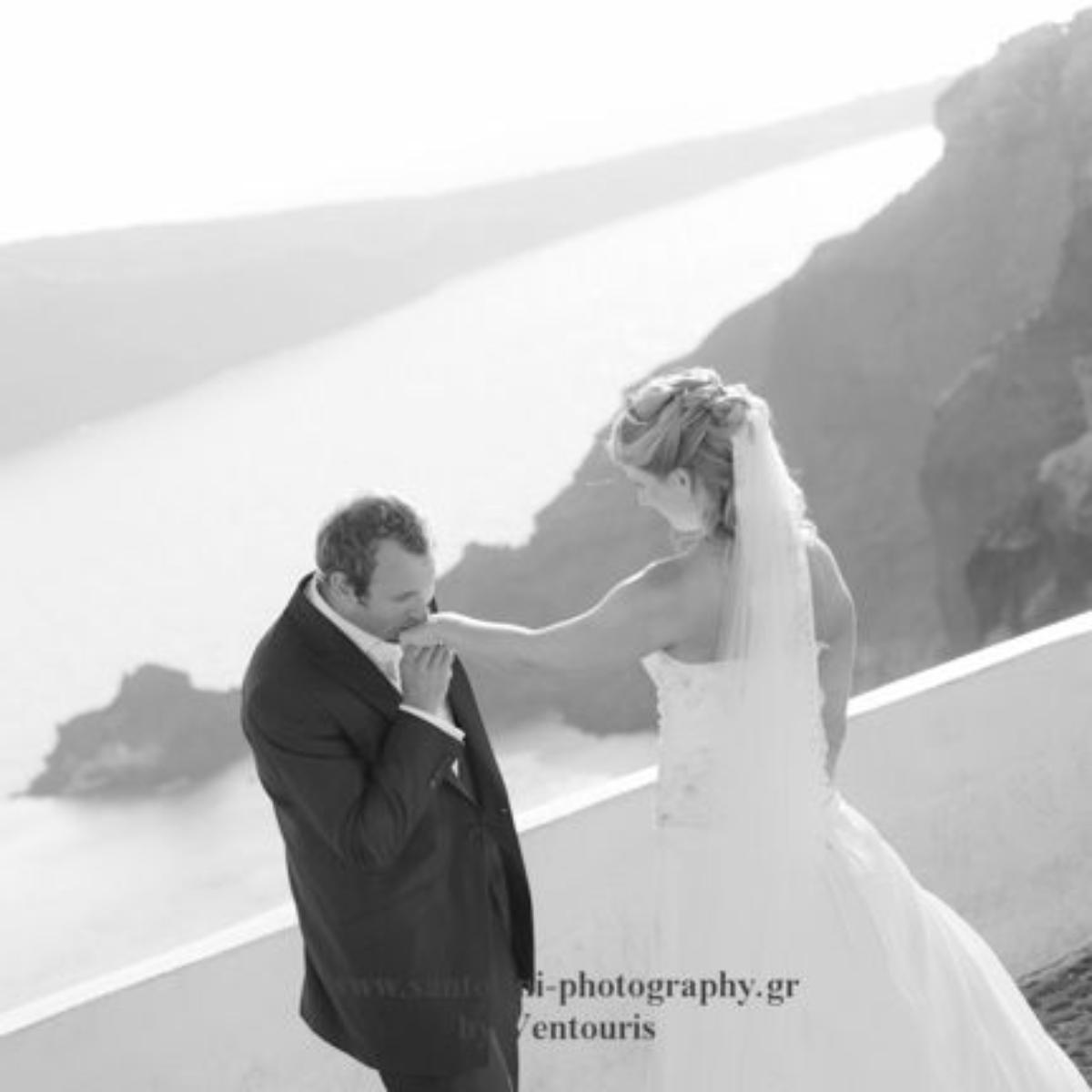 Ina Merethe og Christopher, Santorini, 12. september 2012