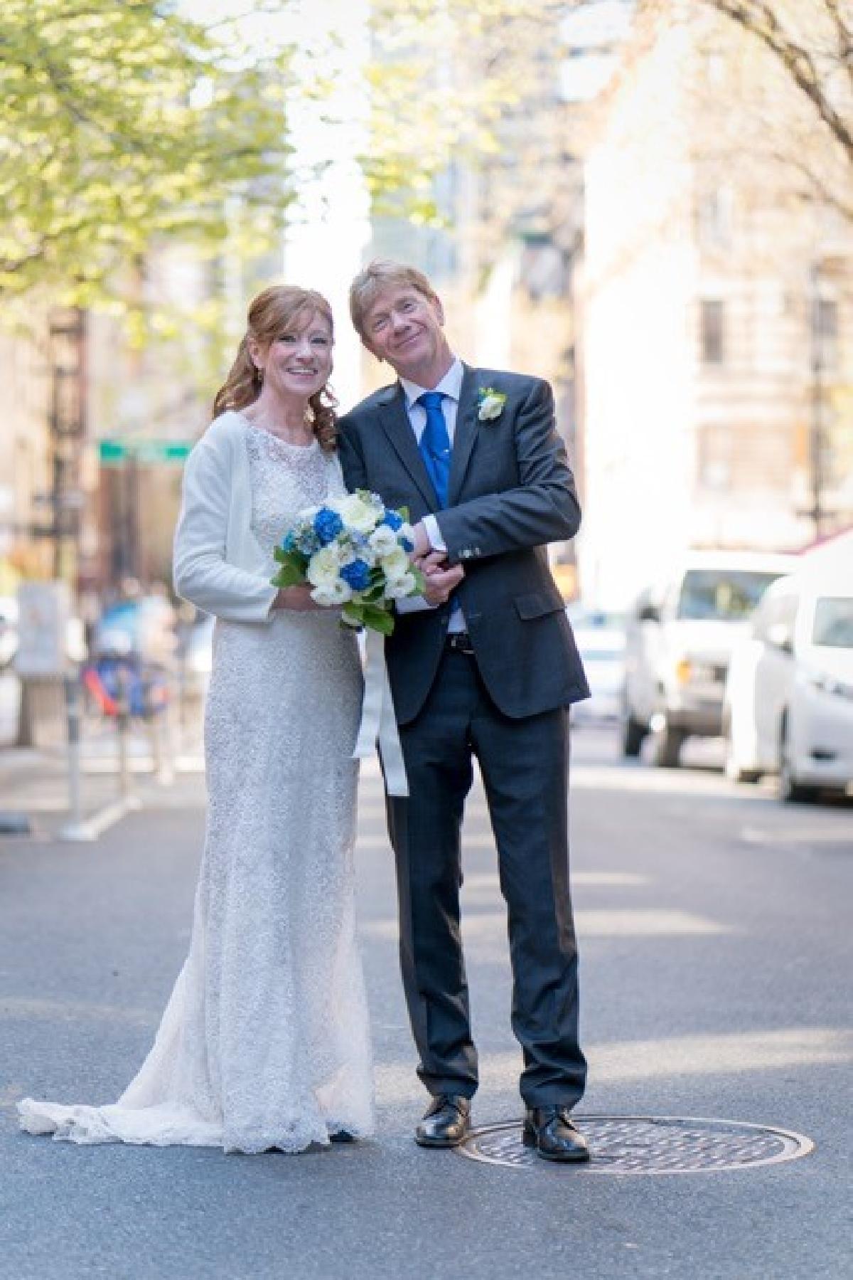 Eva og Jens Erik, New York, 15. april 2016