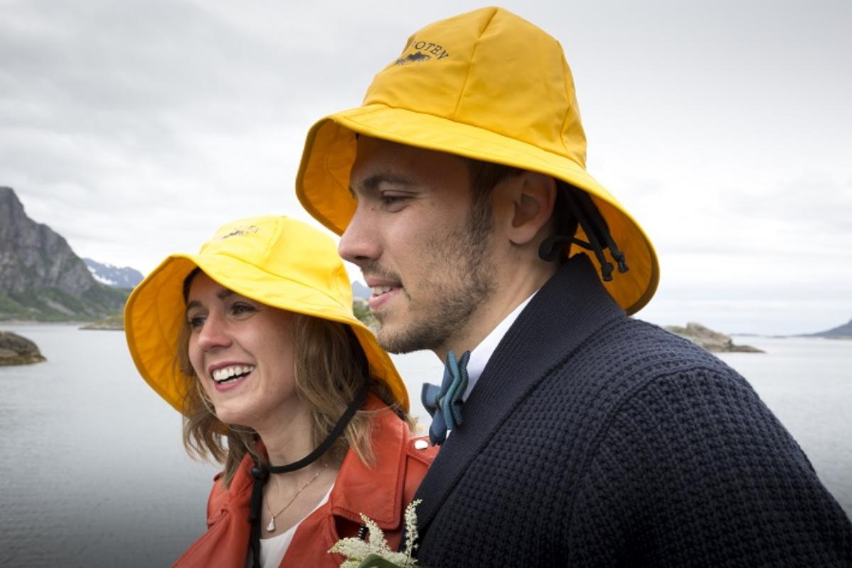 Claire and Matteo, Wedding Lofoten, 3rd July 2017