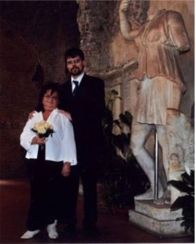 Anne Sofie & Helge, Roma, 23. mars 2005