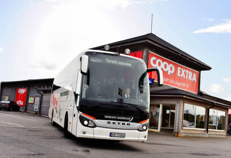 Buss til Coop Storlien