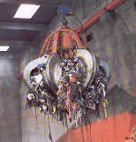 Søppelgrabb. Foto.