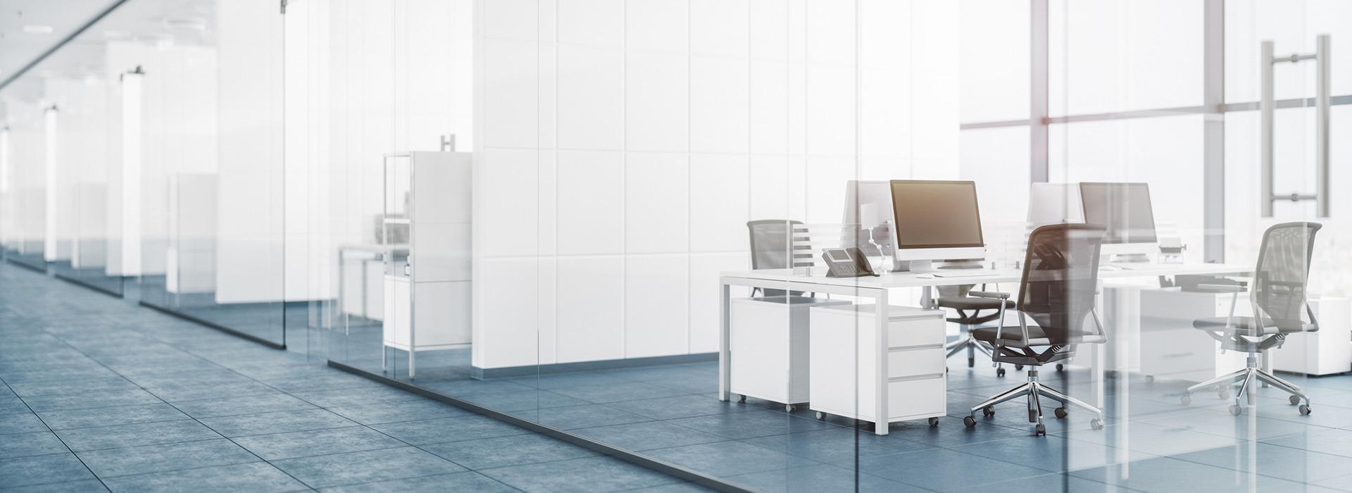 Belysning til kontorlandskap