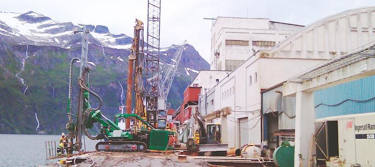 Kai i Glomfjord