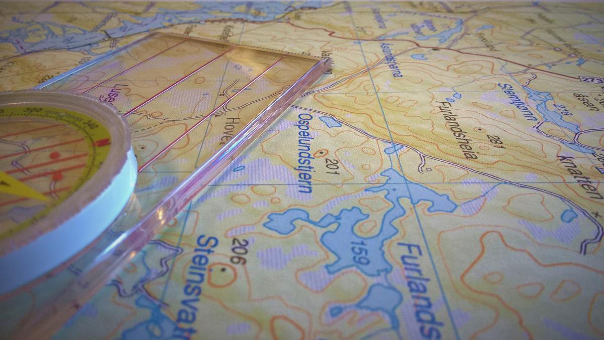 veiviser kart Kart   Friluftsrådet Sør veiviser kart