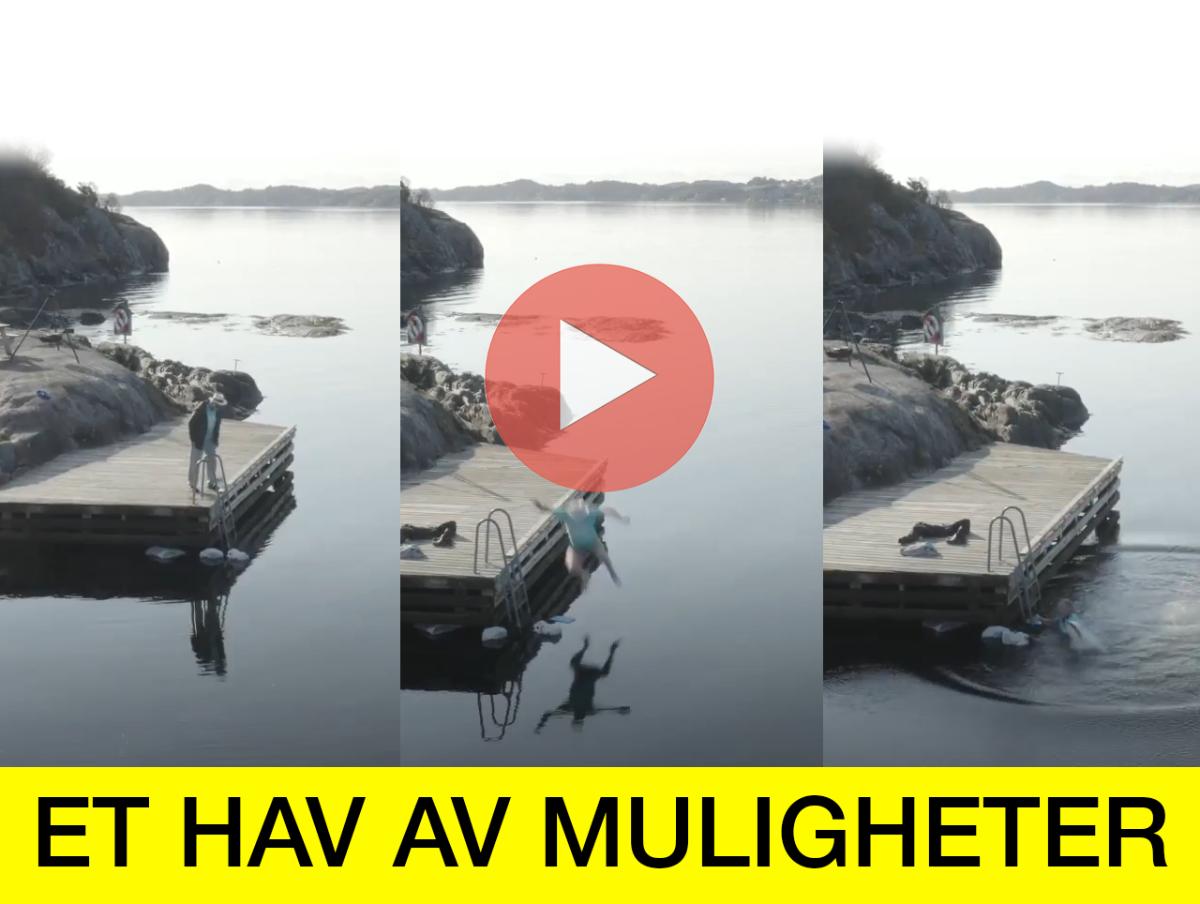 """Friluftsrådet støtter TV-innsamlingsaksjonen """"ET HAV AV MULIGHETER"""" - headerbilde"""