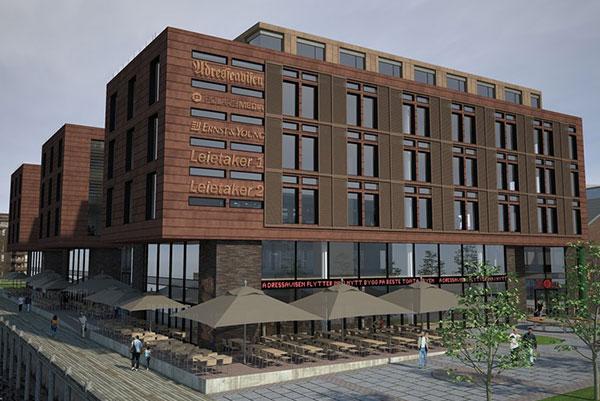 En av våre referanser er Verftsgate 21. Her er bildet av bygningen.