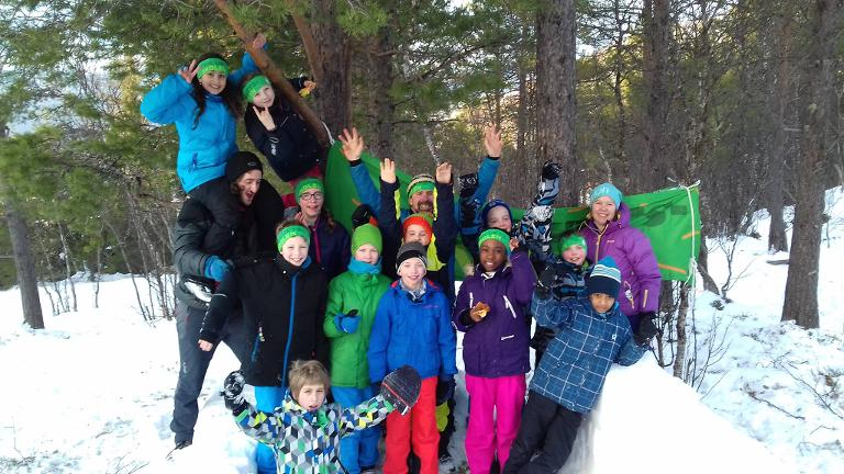 Friluftsskole i vinterferien