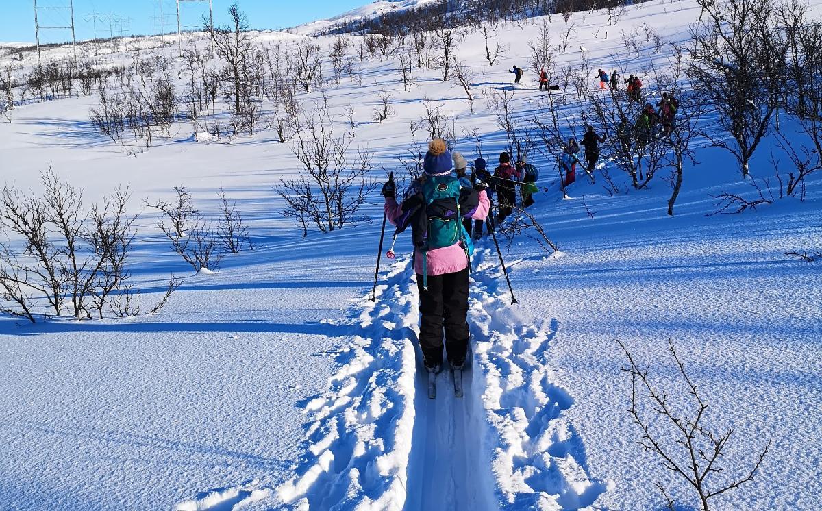 Friluftsskole i vinterferien - Narvik - headerbilde