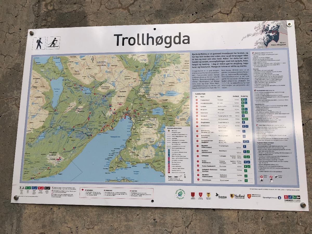 Nye informasjonstavler på Trollhøgda og i Bjerkvik - headerbilde