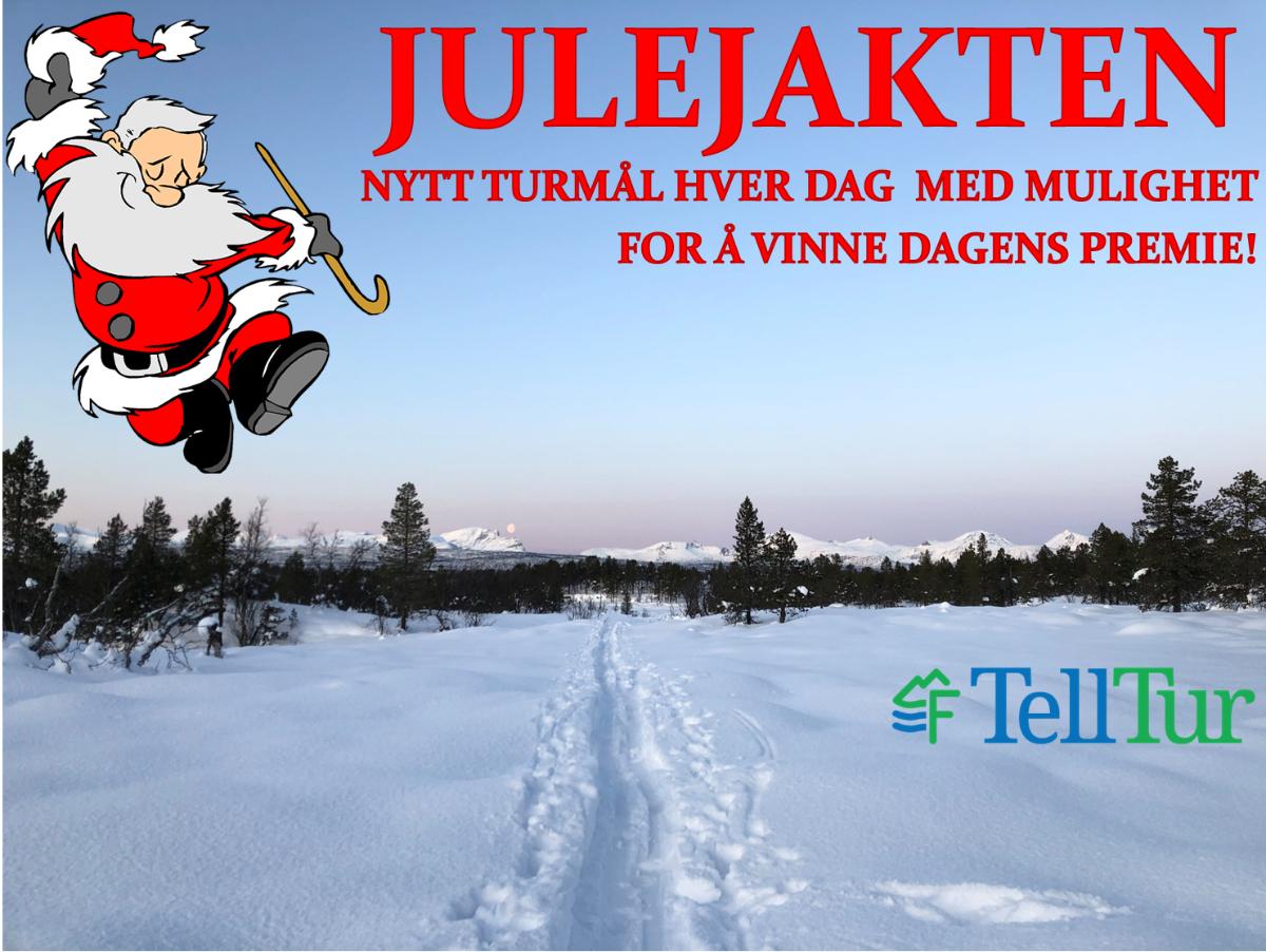 Julejakten 2020 - Telltur-konkurranse!  - headerbilde