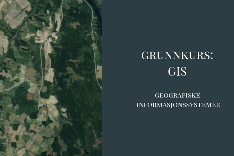 Meld deg på GIS-kurs