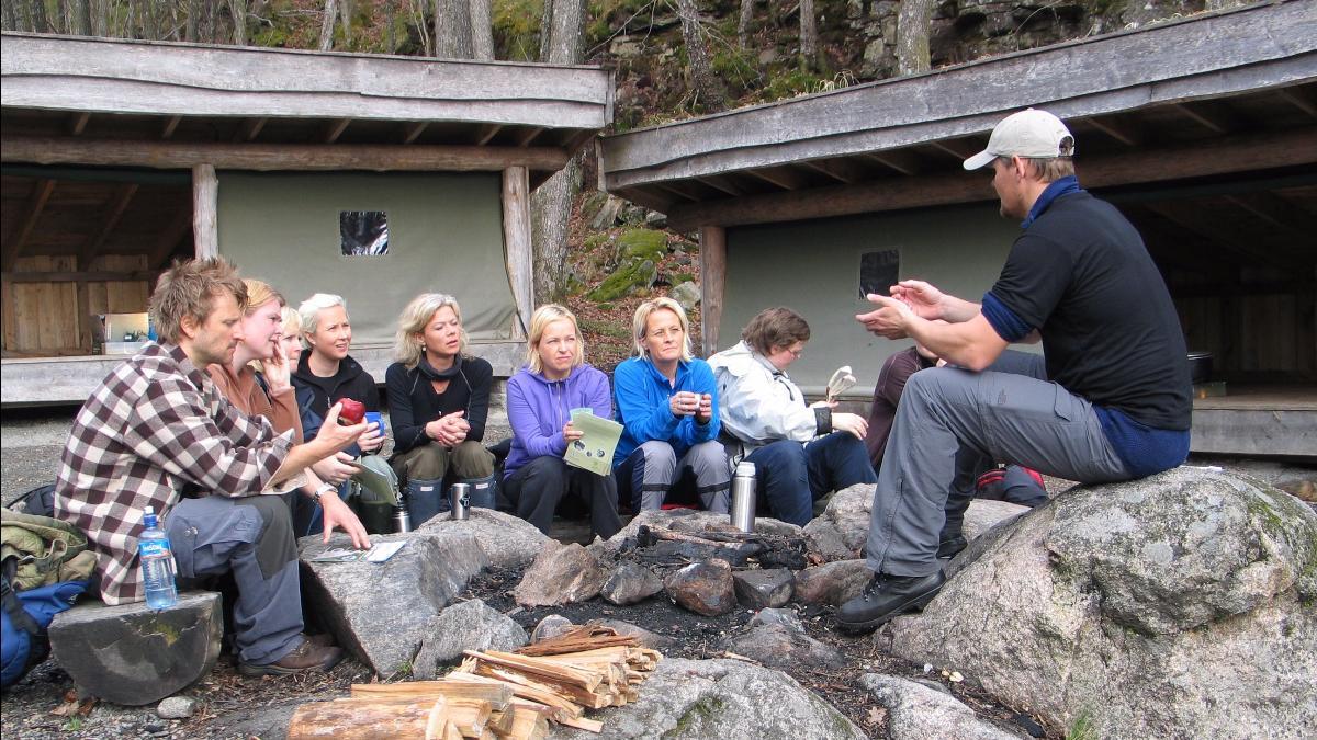 Lærerkurs på Donevann naturskole