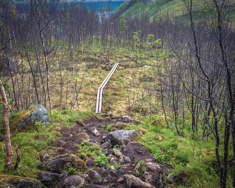 Hvordan ivareta natur og opplevelsesverdier på stiene i Midt-Troms - Stiworkshop 18 og 19 september