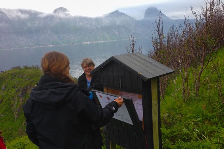 Besøkskartlegging på turstier på Senja