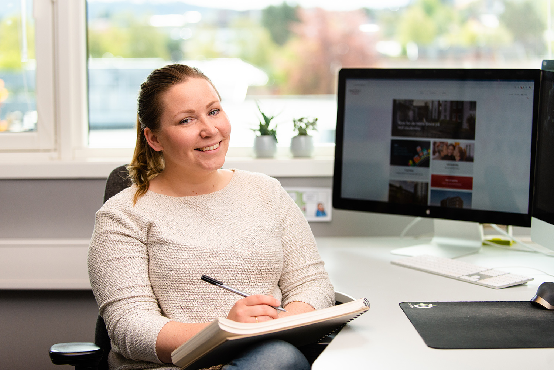 Webdesigner Caroline