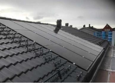 solcelle på taket