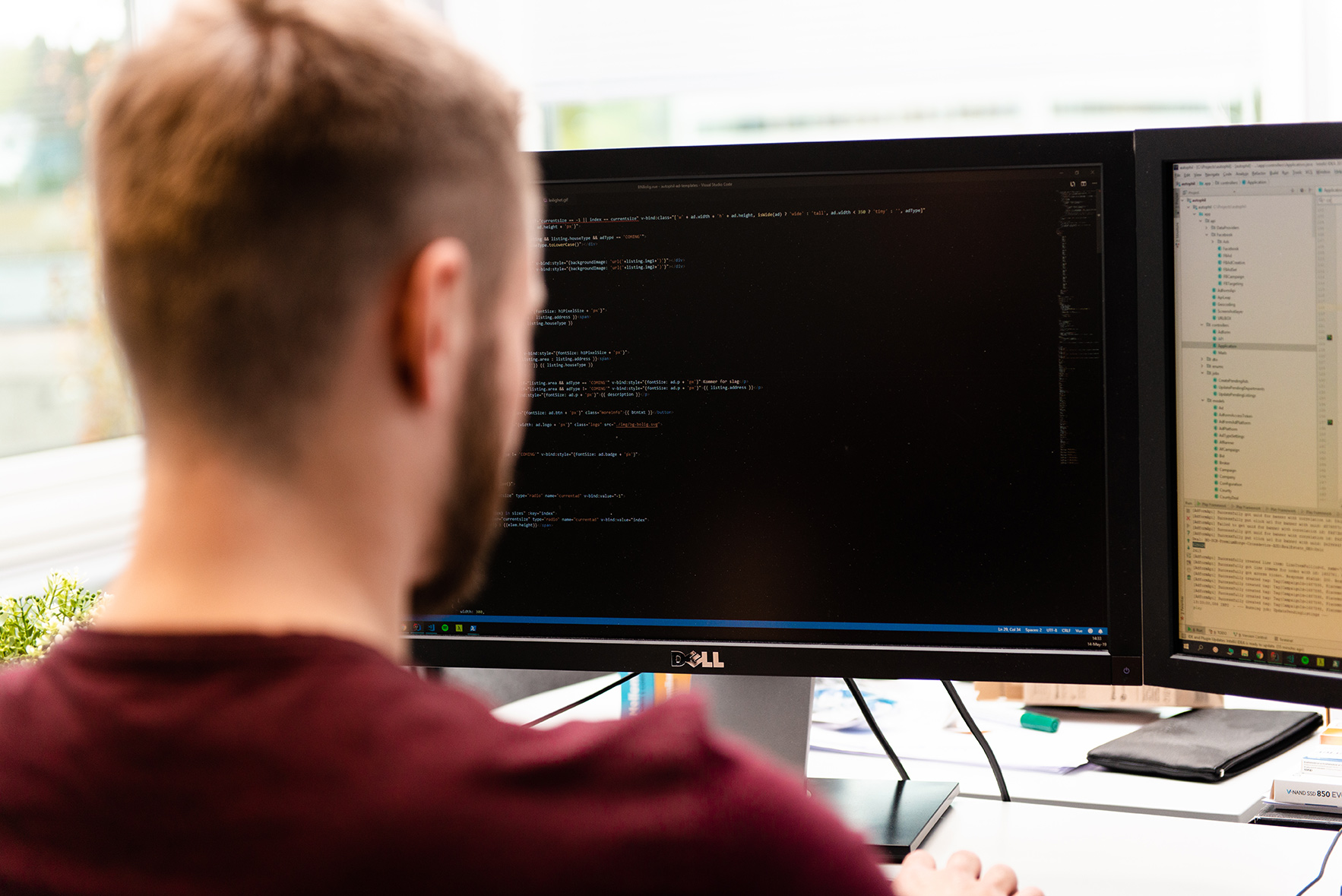 Vi søker webutvikler