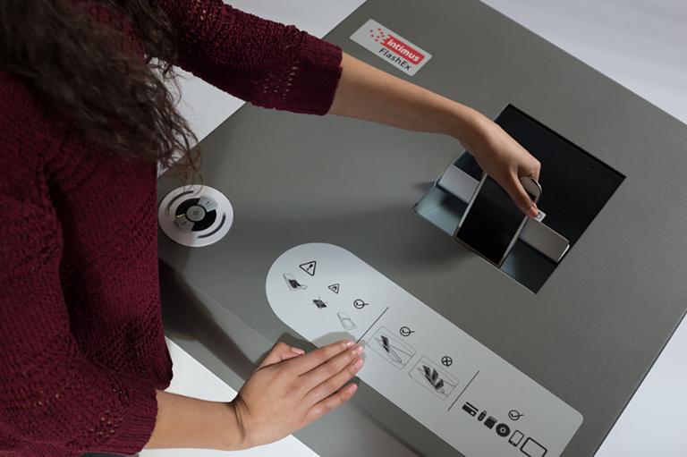 Intimus FlashEx - Makuleringsmaskiner - Multimedia